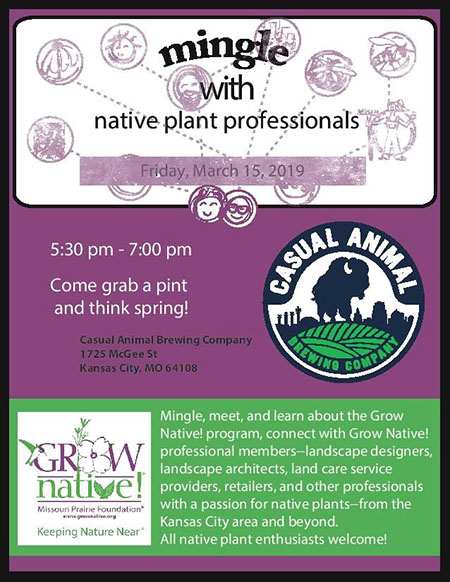 GrowNative Mingle with Native Plant Professionals